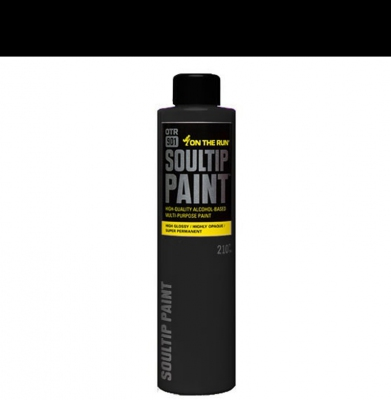Farba ON THE RUN Soultip Black 210ml