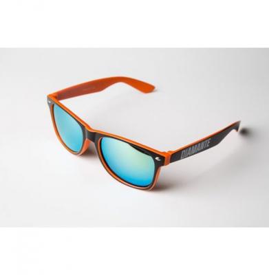 Okulary DIAMANTE WEAR 'Diamante 3' Pomarańczowe