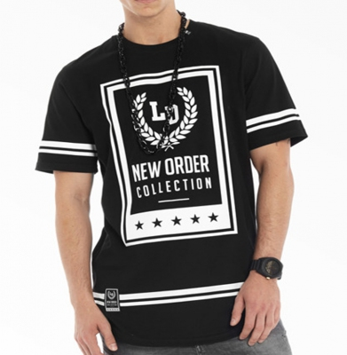 Koszulka LUCKY DICE NEW ORDER Black