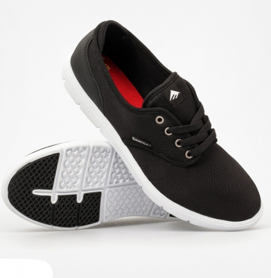 Buty EMERICA Wino Cruiser Lt Black/White