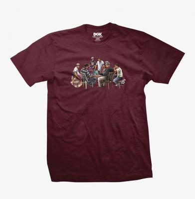 Koszulka DGK High Stakes Burgundy