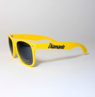 Okulary DIAMANTE WEAR Żółte