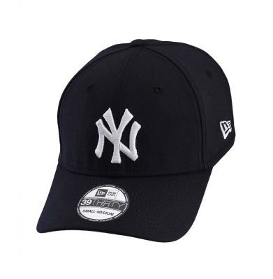 Czapka NY NEW ERA 39THIRTY Black White