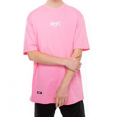 Koszulka MASS DNM Signature Small Logo Pink