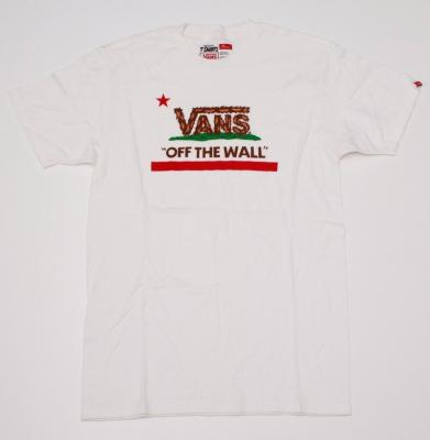 Koszulka VANS OFF THE WALL Eureka Bear WHITE