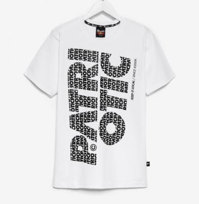 Koszulka PATRIOTIC Cls Fonts Pion Biała