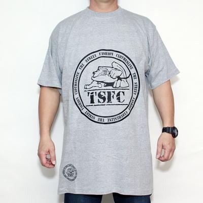 Koszulka TSFC Stamp Grey