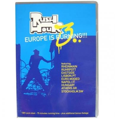 DVD - RUSH HOUR - EUROPE IS BURNING