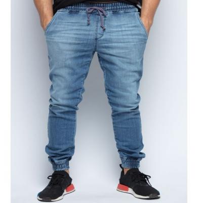 Spodnie DIAMANTE WEAR 'Jogger RM Jeans' Jasny Wyprany