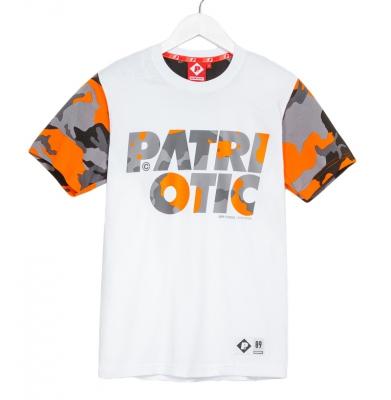 Koszulka PATRIOTIC Cls Camo Biała