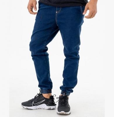 Spodnie MORO Joggery Mini Slant Tag Pocket Dark Blue