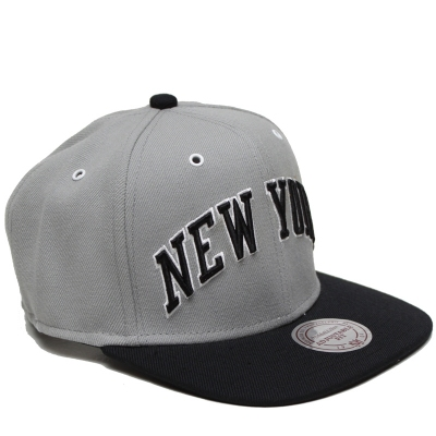 Snapback Mitchell&Ness ''NEW YORK'' gray/black