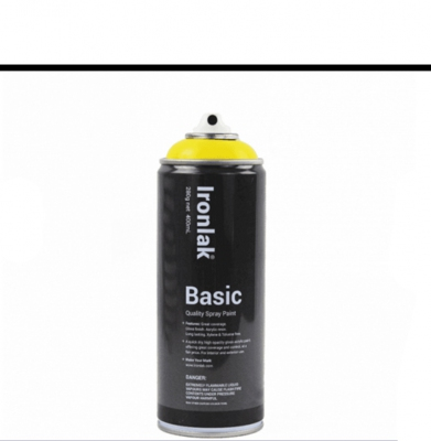 Farba IRONLAK BASIC PAINT Gloss White BS002