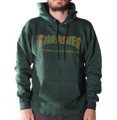Bluza THRASHER Davis Hood Forest Green