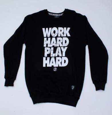 Bluza GRUBE LOLO Play Hard Czarna