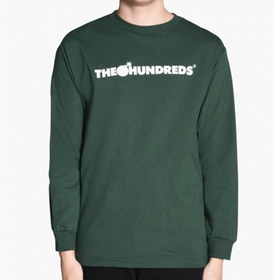 Bluza THE HUNDREDS Forever Bar Dark Green