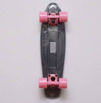 Deskorolka FISH SKATEBOARDS CLASSIC Grey/Summer Pink
