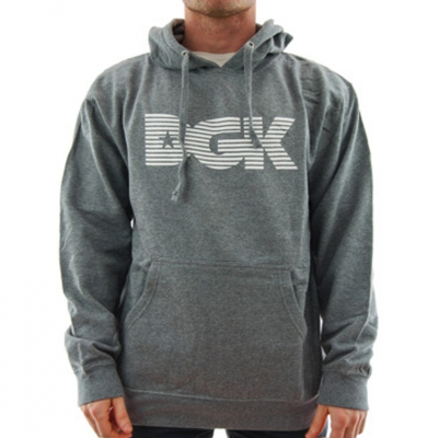 Bluza DGK LEVELS Heather Grey
