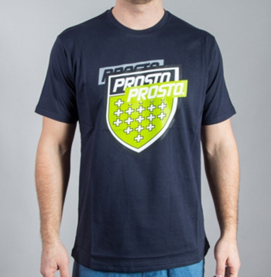 Koszulka PROSTO SPLITTING NIGHT BLUE
