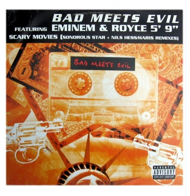 Vinyl Bad Meets Evil Ft. Eminem & Royce 5' 9