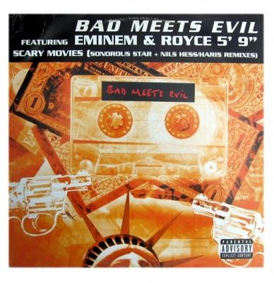 Vinyl Bad Meets Evil Ft. Eminem & Royce 5' 9