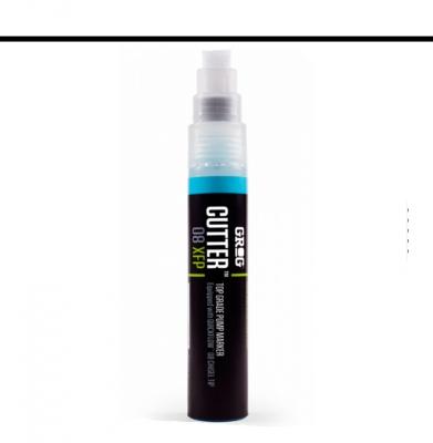 Marker GROG Cutter 08 XFP Bogota White 8mm