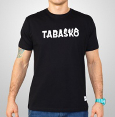 Koszulka TABASKO GLITCH Czarna