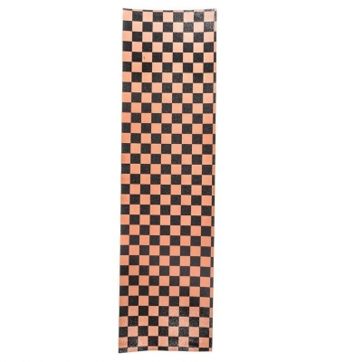 Papier do deskorolki FKD PIMP GRIPTAPE Checkered Orange/Blac