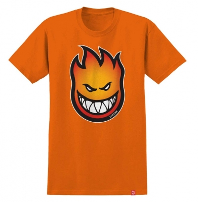 Koszulka SPITFIRE BIGHEAD FADE FILL YOUTH Orange