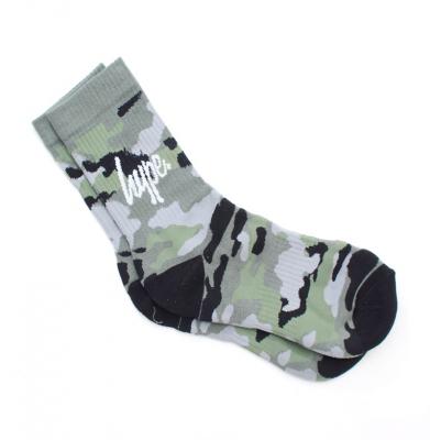 Skarpetki HYPE Camo Sock Black