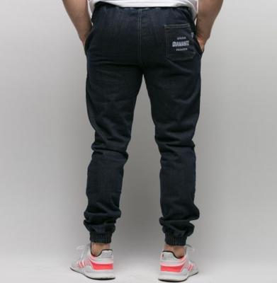 Spodnie DIAMANTE WEAR Jogger Dark Jeans Granatowe