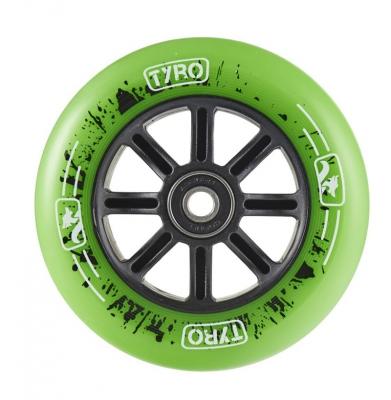 Kółko LONGWAY Tyro Nylon Core Zielone 110mm