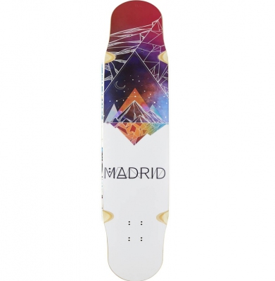 Deska MADRID Fiberglass Longboard Deck Space Mountain Flex 1