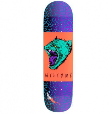 Deska WELCOME SKATEBOARDS Tasmanian Angel 8.0 + Papier Grati
