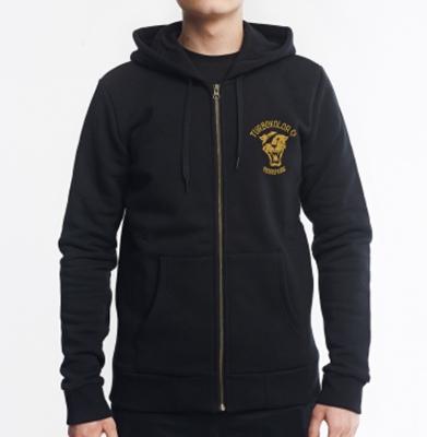 Bluza TURBOKOLOR OG ST ZIP HOODIE SS18 Black