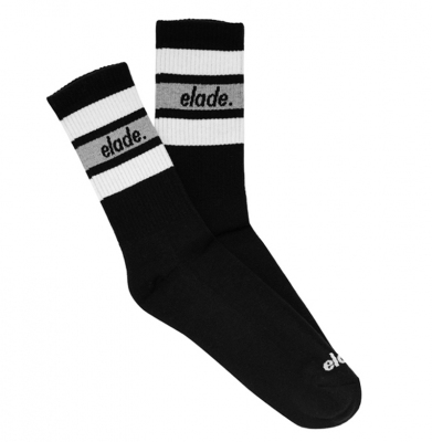 Skarpety ELADE STRIPES SOCKS BLACK