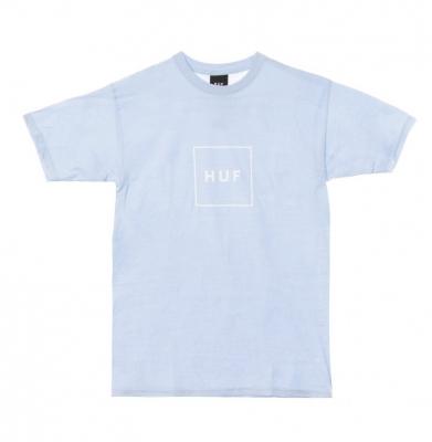 Koszulka HUF Box Logo Greek Blu