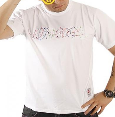 Koszulka STOPROCENT GURU GOMEZ Biała