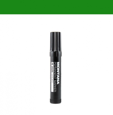 Marker MONTANA Permanent Short 4mm Green