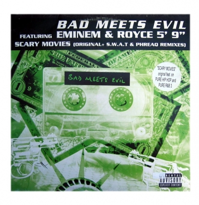 Vinyl Bad Meets Evil Ft. Eminem & Royce 5' 9 -Scary Movies