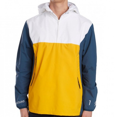 Kurtka THE HUNDREDS ANCHOR ANORAK WHITE