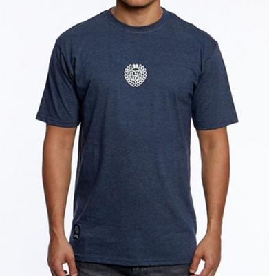 Koszulka MASS DNM Base Small Logo Heather Navy