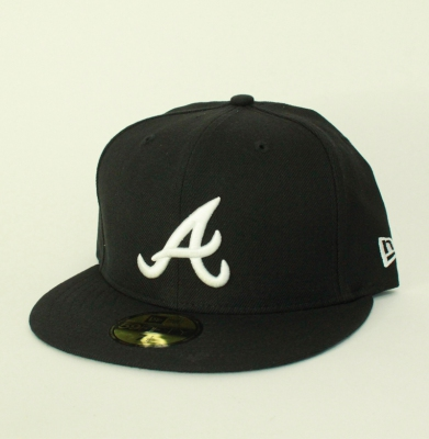 Czapka NEW ERA ATLANTA Black/White