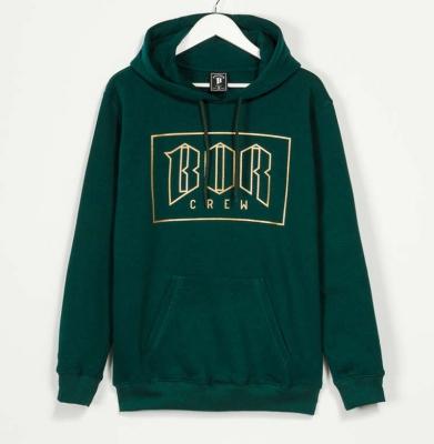 Bluza BOR NEW OUTLINE Bawełna Drapana Ciemny Zielony