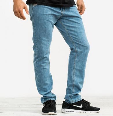 Spodnie MORO Mini Slant Tag Slim Jasne Pranie