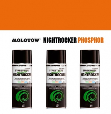 Farba MOLOTOW NIGHTROCKER PHOSPHOR - Orange