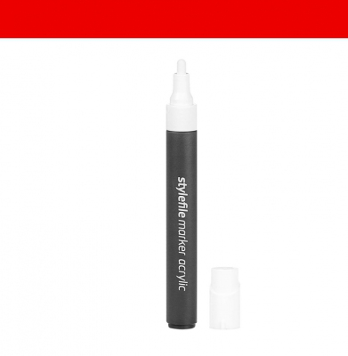 Marker STYLEFILE Acrylic Single Marker Red 4mm