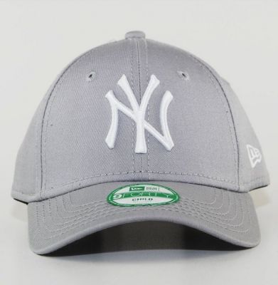 Czapka NY NEW ERA 9FORTY CHILD NEW YORK Szara