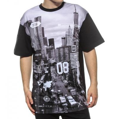 Koszulka SSG City Biały/Czarny