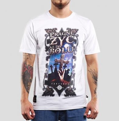 Koszulka CHADA DO BÓLU Biała
